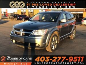 2010 Dodge Journey R/T / Leather / Sunroof / Back Up Cam