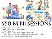 $50 mini sessions for MAY! Newcastle Newcastle Area Preview