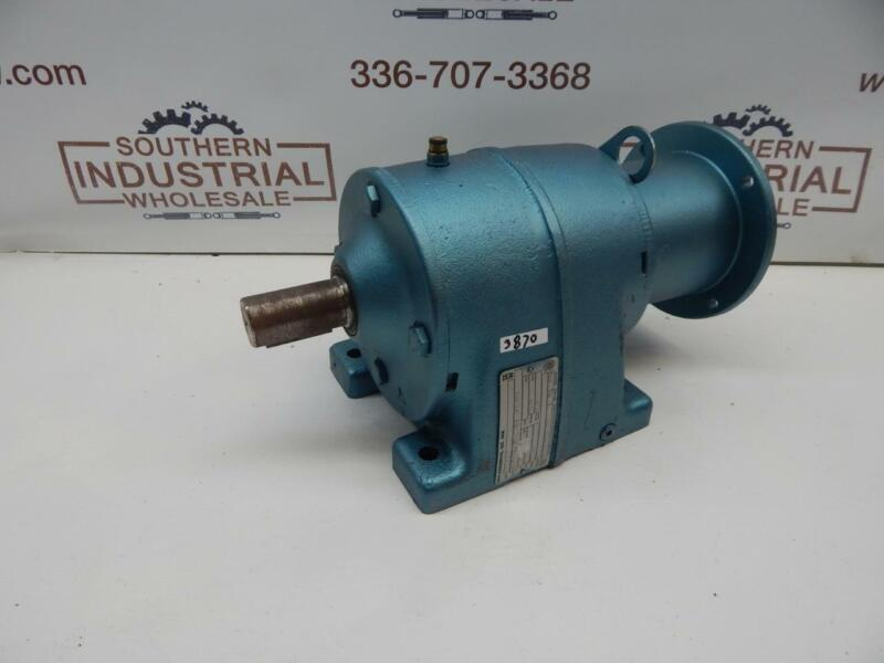 "SEW Eurodrive R60LP143 Speed reducer 37.55:1 Ratio 2120 Torque 1.250""out 0.875"""