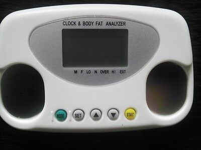 Body Fat Analyzer Digital Monitor LCD Keep Fit Diet Weight Loss