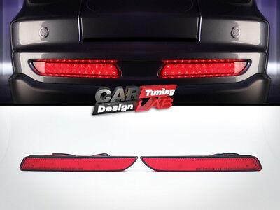 2010' Honda CRV CR-V RED LED Rear Bumper reflectors Light Mugen Lamp