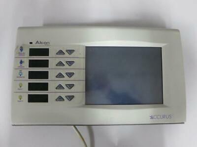 Alcon Accurus 202-1511-501 E Top Front Panel Display Assembly Phacoemulsifier