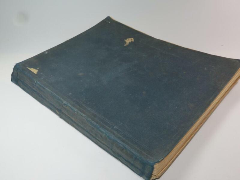 ANTIQUE MUSIC Victorian Bound Book of Music Scores