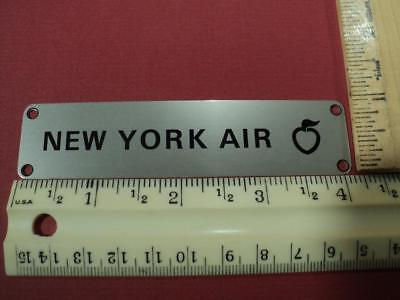 New York Air Food Service Equipment Id Plate  Free Shipping