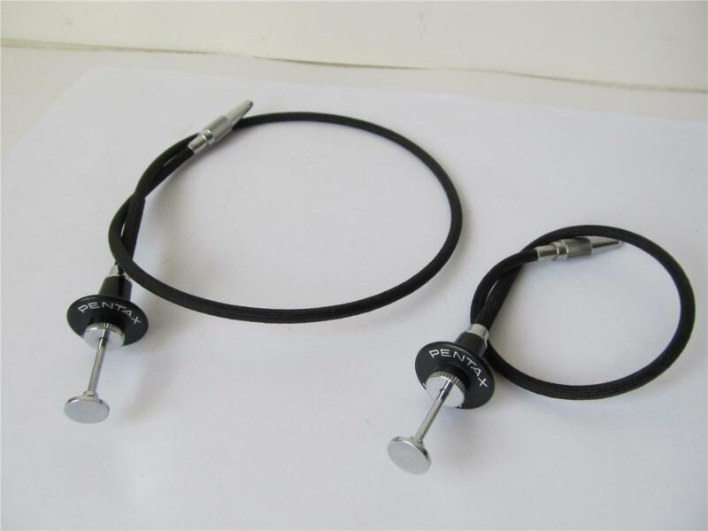 2x Geniune Pentax Locking Cable Release *****