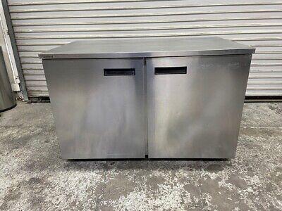 2 Door Under Counter 48 Refrigerator Nsf Stainless Cooler Delfield Uc4048 5310