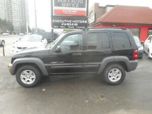 2003 Jeep Liberty ONE OWNER SUPER LOW KMS MINT CONDITION!!