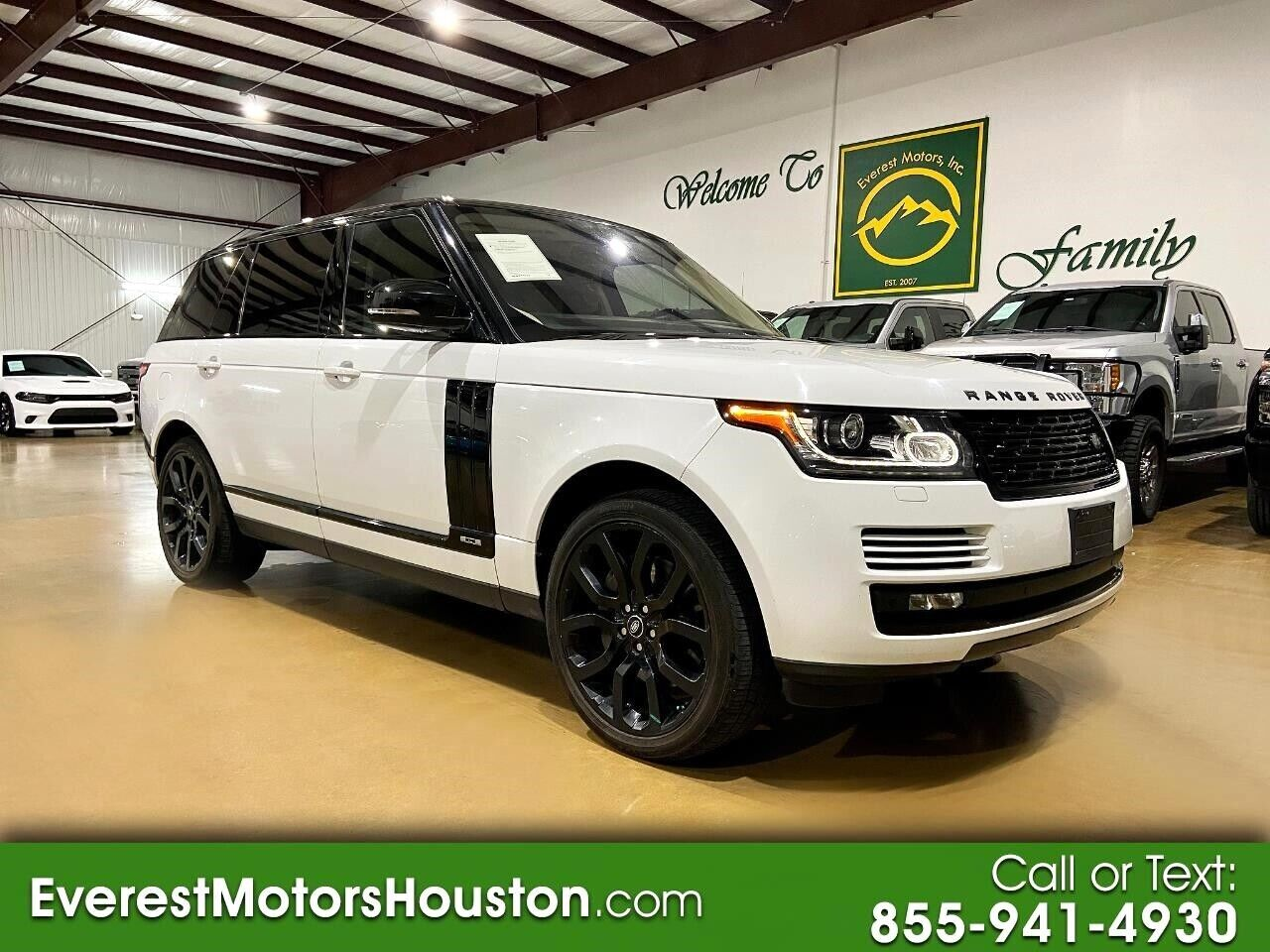 2015 Land Rover Range Rover SUPERCHARGED 4X4 5.0L 8CYLINDER ENGINE