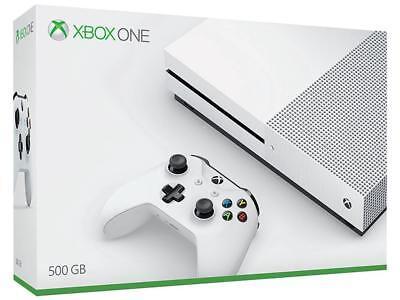 Xbox One S 500Gb White Console Bundle  Xbox One  2017   4769   Free Shipping Usa