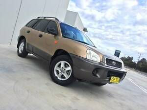 2003 Hyundai Santa Fe Wagon 4WD - Inc New Rwc & Vic Rego Footscray Maribyrnong Area Preview