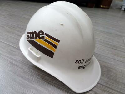 Vintage Bullard Hard Hat Hard Boiled Construction Sme Soil Materials Engineers