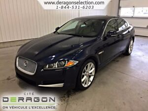 2015 Jaguar XF LUXURY ACCIDENT FREE+3.0L SUPERCHARGED *340HP*