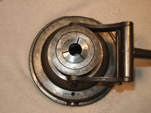 ZAGAR CO. (CLEVELAND OHIO) 5C COLLET CLOSER IN GOOD WORKING  CONDITION