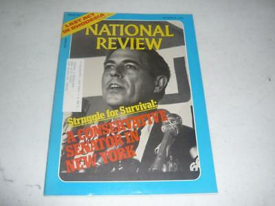National Review Magazine   October 29 1976   New York Senator James Buckley