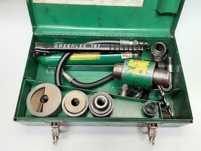 Greenlee 7506 Slug Splitter Hydraulic Knockout Set For 12 34 1 1-14 2