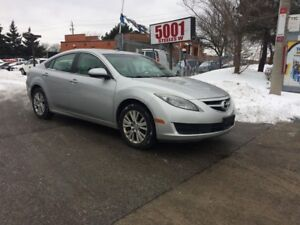 2009 Mazda MAZDA6 4CYL,91000KM,AUTO,SAFETY+3YEARS WARRANTY INCLU