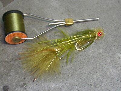 orange-Taille 8-salmon steelhead trout wet fly 1 DZN-Glow Bug