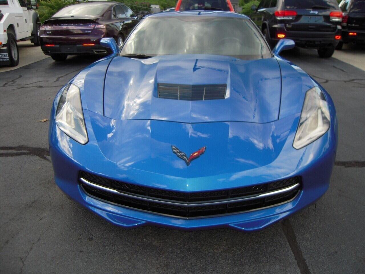 2014 Blue Chevrolet Corvette  1LT | C7 Corvette Photo 8