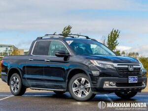 2017 Honda Ridgeline V6 TOUR- NO ACCIDENTS|ROOF RACK|WINTER MATS