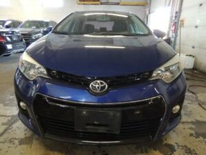 2014 Toyota Corolla S, LEATHER, BACK UP CAMERA, SUNROOF