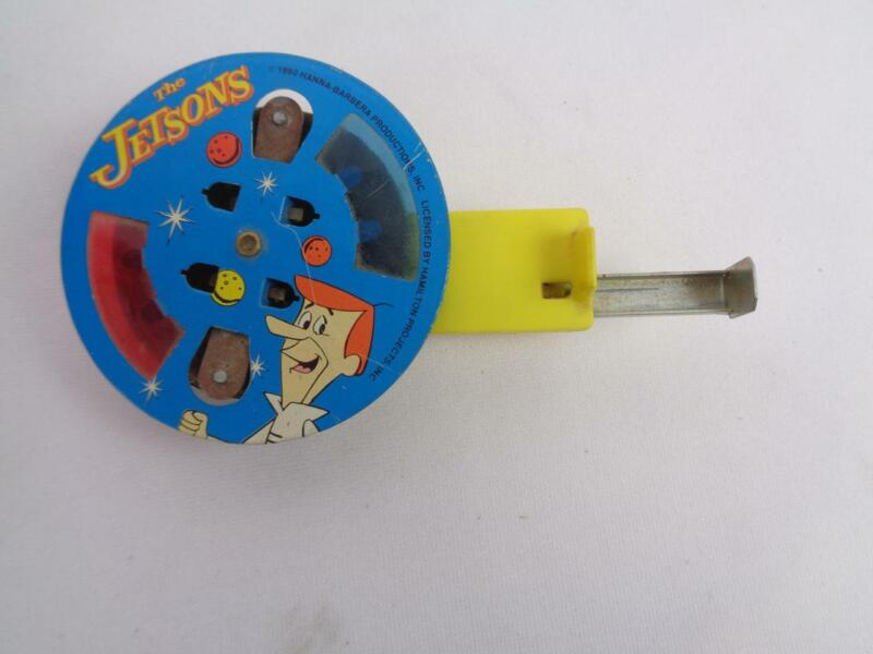 RARE Vintage The Jetsons 1990 Jimmys Toys Metal Spin & Spark Sparking Toy NICE!