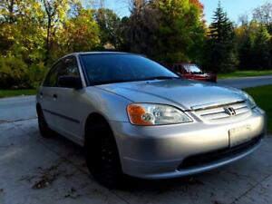 2001 Honda Civic One Owner Clean Title