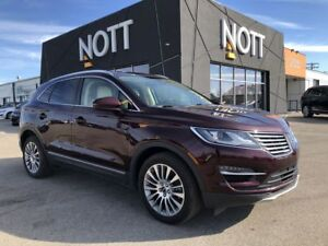 2016 Lincoln MKC RESERVE  AWD 1 Owner Navigation Pano Roof Backu