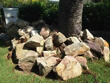 Sandstone boulders bush rock Avalon Pittwater Area Preview