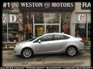 2012 Buick Verano POWER GROUP*BLUETOOTH*UNBELIEVABLE SHAPE!!*