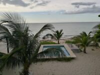 OCEANFRONT IN CHICXULUB MEXICO