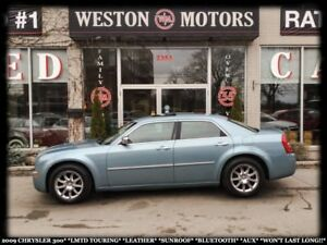 2009 Chrysler 300 LEATHER*SUNROOF*BLUETOOTH*AUX*LMTD TOURING*