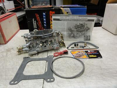 New Carter AFB 500 CFM Chokeless Dual Quad Carburetor Tunnel Ram 9502 9502S #1