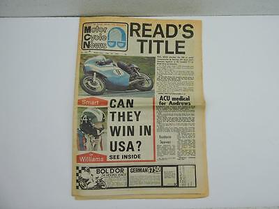 July 1973 Motor Cycle News Newspaper F750 TT Norton Yamaha 125 250 500 L11058