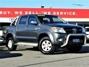 2008 Toyota Hilux GGN25R MY08 SR5 Grey 5 Speed Automatic Utility