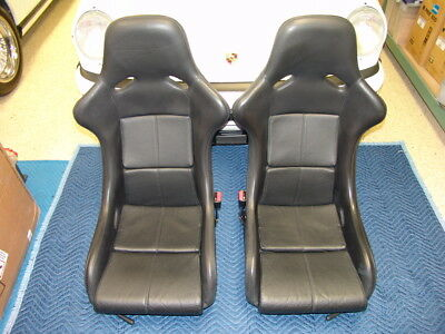 RARE GENUINE PORSCHE 1994 964 SPEEDSTER RACING SEATS OEM BY RECARO!!! RS RSR RU