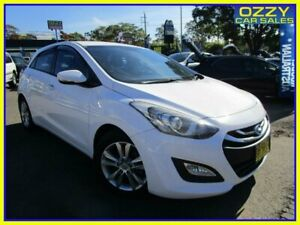 2014 Hyundai i30 GD MY14 Trophy White 6 Speed Manual Hatchback Penrith Penrith Area Preview