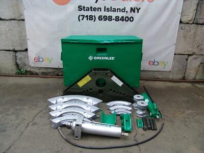 Greenlee 885 Hydraulic Bender 1 14 To 5 Inch Rigid Pipe Works Great 1 829