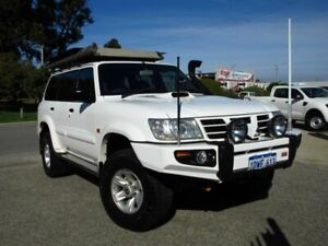 2003 Nissan Patrol GU III ST-L (4x4) White 5 Speed Manual Wagon Wangara Wanneroo Area Preview