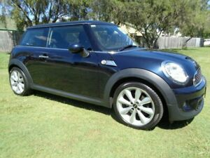 2012 Mini Coupe R58 Cooper S Blue 6 Speed Sports Automatic Coupe Kippa-ring Redcliffe Area Preview
