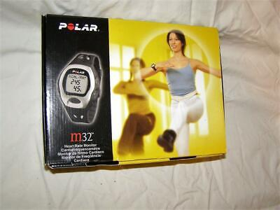 Polar M32 Heart Rate Monitor - Exercise Wrist Watch - with extra T-31 Strap