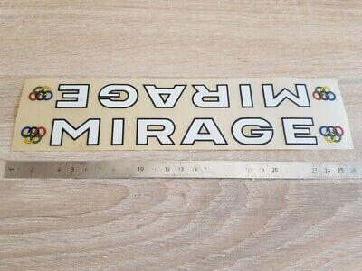 ++ autocollant sticker MIRAGE vélo cyclisme vintage ++