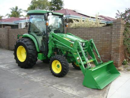 John deere tractor farming vehicles equipment gumtree john deere 4066r cab tractor loader top of line as new 110hrs fandeluxe Choice Image