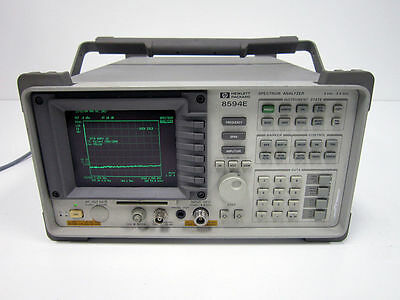 Hp Agilent 8594e 2.9 Ghz Spectrum Analyzer 004 041 101 J62