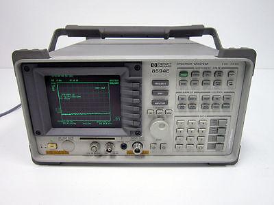 Hp Agilent 8594e 2.9 Ghz Spectrum Analyzer 004 041 101 J62