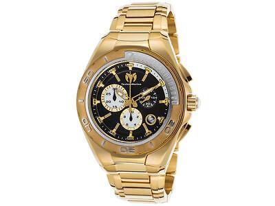 Technomarine Men's TM-215039 Manta Quartz Black Dial Watch