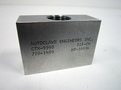 Autoclave Engineers Parker Ctx-9990 Ctx9990 20k Psi Cross 916