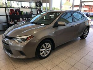 2015 Toyota Corolla LE BLUETOOTH AIR CLIMATISÉ CAMERA RECUL