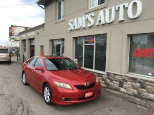 2007 Toyota Camry SE REDUCED