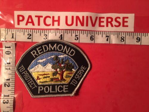 REDMOND OREGON  POLICE  SHOULDER  PATCH  T004