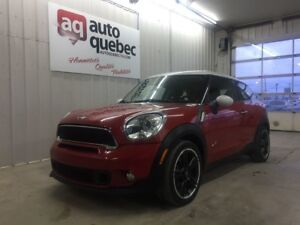2013 MINI Cooper Paceman S ALL4 GARANTIE 1 AN OU 15000KM GMP INC